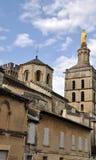 Palais des Papes in Avignon Stock Image