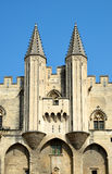 Palais des Papes in Avignon Royalty Free Stock Image