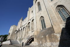 Palais des Papes in Avignon Royalty Free Stock Photos