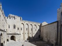 Avignon:Palace of the Popes stock images