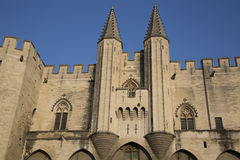 Palais des Papes - Palace of the Popes, Avignon Royalty Free Stock Photos