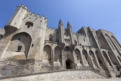 Palais des Papes Royalty Free Stock Image