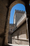 Palais des Papes. The Pope's Palace - Avignon, France Stock Image