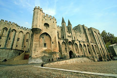 Palais des Papes (Provence) Royalty Free Stock Photography