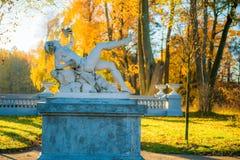 Palais des sculptures en jardin de Tyshkevich image libre de droits