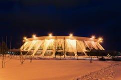 Palais des sports de glace en Russie Images libres de droits