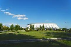 Palais des sports de glace en Russie. Photographie stock libre de droits