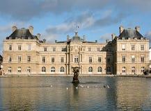 Palais du卢森堡在巴黎 免版税库存图片