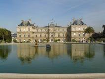 Palais du卢森堡& x28; Paris& x29; 免版税库存照片