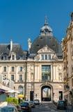 Palais du Коммерция, историческое здание в Ренне, Франции стоковое изображение rf