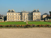 palais du Люксембурга стоковое фото rf