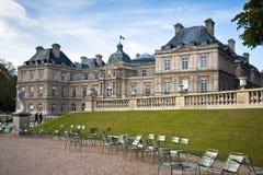 Palais du Люксембург, Париж, Франция Стоковые Изображения