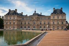 Palais du Люксембург, Париж, Франция Стоковое Изображение