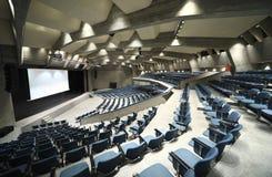 Palais du congrès, intérieur Images stock