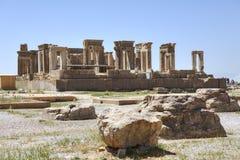 Palais du palais de Darius ou de Tachara, Persepolis près de Chiraz, Iran Photo libre de droits