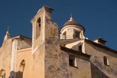 Palais du gouverneur, Calvi, Corse Photo libre de droits