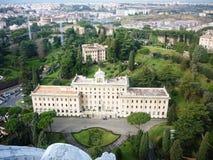 Palais du Governorate et de Vatican photo libre de droits