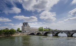 palais du louvre Στοκ φωτογραφίες με δικαίωμα ελεύθερης χρήσης