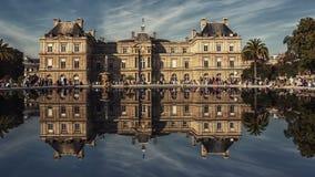 Palais du Luxembourg à Paris photographie stock libre de droits