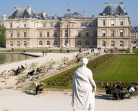 Palais du Luxembourg Stock Photo
