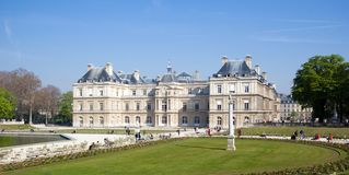 Palais du Luxembourg Stock Images