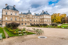 Palais du Luxembourg imagem de stock