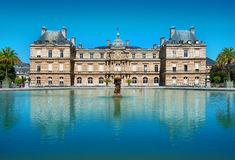 Palais du Luxembourg. Facade of Palais du Luxembourg in Paris, France royalty free stock images