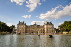Palais du Luxembourg Royalty Free Stock Photography