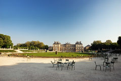 Palais du Luxembourg, Paris. France Stock Image