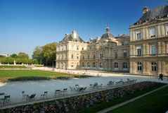 Palais du Luxembourg, Paris. France Royalty Free Stock Image