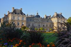 Paris Palais du Luxembourg Royalty Free Stock Photography