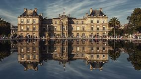 Palais du Luxembourg in Paris Royalty Free Stock Photography
