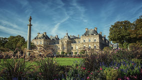 Palais du Luxembourg in Paris Stock Photos