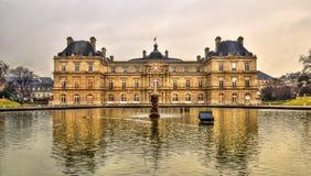 Palais du Luxembourg - sénat des Frances photo libre de droits