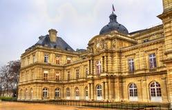 Palais du Luxembourg - sénat des Frances photo stock