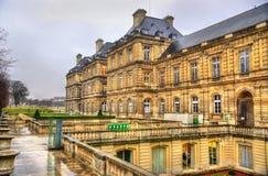 Palais du Luxembourg - sénat des Frances images stock