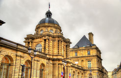 Palais du Luxembourg - sénat des Frances photos stock