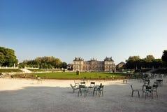 Palais du Luxemburg, Parijs Stock Afbeelding