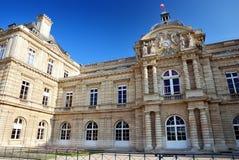 Palais du Luxemburg, Parijs Stock Foto's