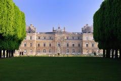 Palais DU Luxemburg, Paris lizenzfreie stockfotografie