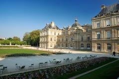 Palais DU Luxemburg, Paris lizenzfreies stockbild