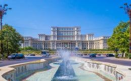Palais du Parlement, Bucarest photo stock