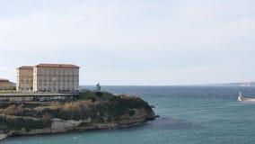Παλάτι στη Μασσαλία, Γαλλία απόθεμα βίντεο