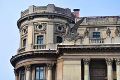 Palais du ressortissant national de Cercul Militar de cercle militaire photographie stock libre de droits