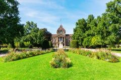 Palais du Rhin en Estrasburgo, Francia foto de archivo