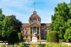 Palais du Rhin en Estrasburgo, Francia fotografía de archivo