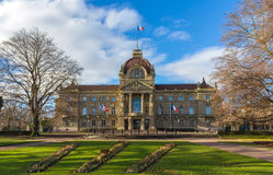 Palais du Rhin in Strasbourg - Alsace, France Royalty Free Stock Images