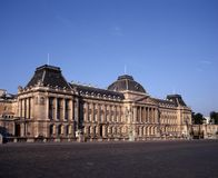 Palais du Roi, Brussels, Belgium. stock photos
