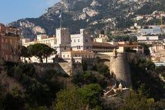 Palais du ` s de prince au Monaco Photos stock