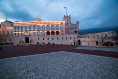 Palais du ` s de prince au Monaco Image libre de droits